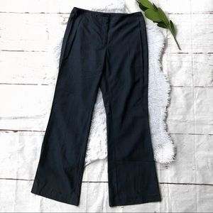 The Limited Wool Blend Navy Pants 4